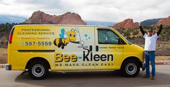Bee-Kleen Professional Carpet Cleaning Van In Colorado Springs
