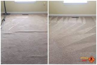 Colorado Springs Carpet Stretching Job Before and After
